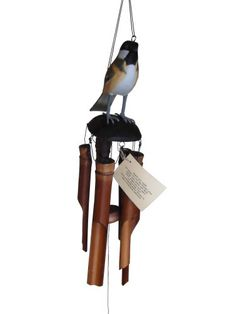 Chimes  Cohasset 175CH Chickadee Bamboo Wind Chime Outdoor Living *** This is an Amazon Associate's Pin. Detailed information can be found on the website by clicking the image.
