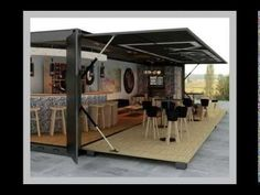 Prefabricated Modular 20 FT Fiberglass Prefab Home Container House for Office/Cafe - China Prefabricated Building, Prefab Home Container Design, Café Container, Container Coffee Shop, Container House Price, Container Homes For Sale, Container Office, Shipping Container Restaurant, Shipping Container Homes, Shipping Containers