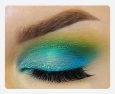 Image result for mermaid eye makeup
