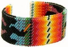 Indian bead jewelry.