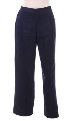 Formal Pants Women, Pants For Women, Alfred Dunner, Women Accessories, Pajama Pants, Pajamas, Sweatpants, Navy, Medium