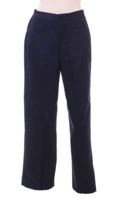Proportioned Medium Pant in Navy by Alfred Dunner Petites (6P) Alfred Dunner. $24.80
