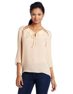 Rebecca Minkoff Women's Carlie Top: Amazon.com: Clothing