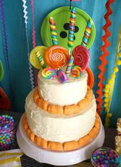 Tortas decoradas con chupetes, divinas. #PastelesConChupetes