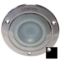 Lumitec Shadow - Flush Mount Down Light - Polished SS Finish - White Non Dimming