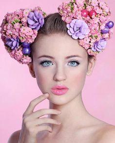 83e36ddd08ce Nikita Jansen Flowers In Hair, Big Flowers, Beauty Photography, Fashion  Photography, Photography