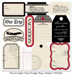 Travel Ledger | Teresa Collins Designs