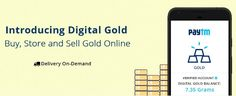 Buy gold using Paytm for as low as Re.1