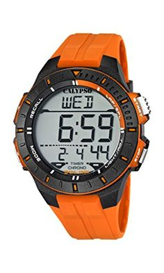 Calypso watches Herren-Armbanduhr Digital Quarz Plastik K5607/1 - http://autowerkzeugekaufen.de/calypso/calypso-watches-herren-armbanduhr-digital-quarz