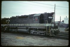 Southern Railway SD35 #3060 at an unknown location April 1978