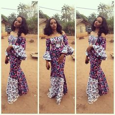 Beautiful Ankara Long Gowns Styles For Nigerian Ladies - DeZango Fashion Zone