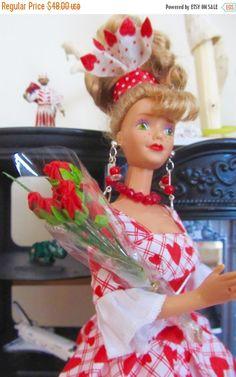 ON SALE 50% Vintage Barbie Green Eye Midge 1985 by DressMeDoll