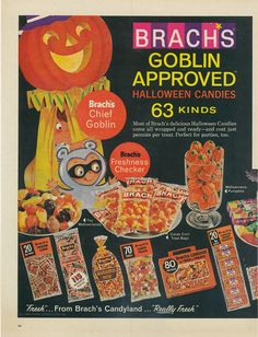 Brach's Goblin Approved Halloween Candy (1965)