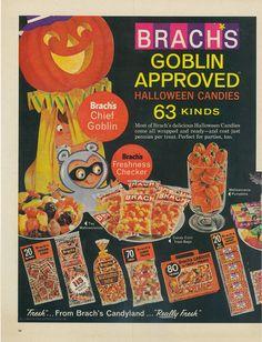 Brach's Goblin Approved Halloween Candy (1965)