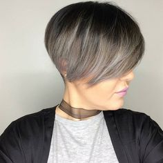 """831 Likes, 4 Comments - Pixie Hair ✂ Don't Care  (@pixiepalooza) on Instagram: """"This is cool! Love the color! It's from @courtneyxcentrichair who says, """"Loving the short hair life…"""""""