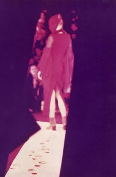 # Archives # Spring-Summer 1989.    Picture from Maison Martin Margiela's first women's fashion show.