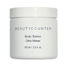 Beautycounter Body Butter . oz ($30) ❤ liked on Polyvore featuring beauty products, bath & body products, body moisturizers and body moisturizer