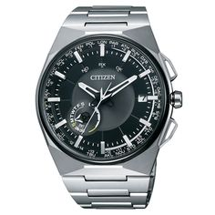 New Citizen model CC2006-52E with satelitte wave system, saphhire glass and titanium case. Buy and get lowest price guarantee and free shipping to Europe. www.optimuswatches.com
