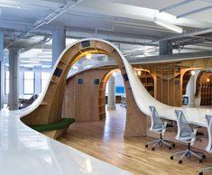 Clive-Wilkinson-Superdesk-Barbarian-Group-Office-Workspace interior design, office designs, comfort seat, seat 125, offic design, superdesk comfort, ad agency office, wilkinson architect