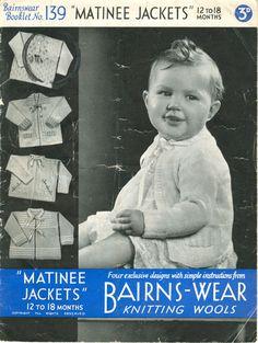 vintage matinee knitting patterns