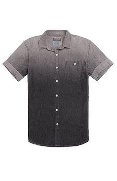 Modern Amusement Coal Short Sleeve Woven Shirt