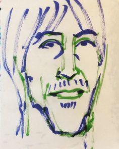 いいね!27件、コメント1件 ― @1mindrawのInstagramアカウント: 「#anthonykiedis #アンソニーキーディス #musician #ミュージシャン #redhotchilipeppers #レッドホットチリペッパーズ #レッチリ #19621101…」