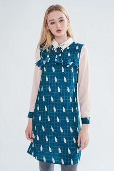 Miss Patina | Unicorn Tears Dress(Blue)