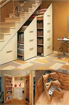 A great way to utilize what would be wasted space!