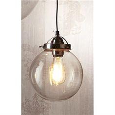 Celeste Glass Ball Pendant Light - Small