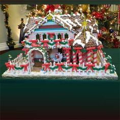 2010 Gingerbread House Contest Winners - Finalist: Painted Lady by Patricia D. New Baltimore, MI