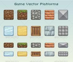 Afbeeldingsresultaat voor platformer blocks