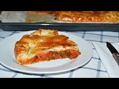 Spanish Tuna Empanada - Tuna & Vegetable Puff Pastry Pie Recipe - http://www.bestrecipetube.com/spanish-tuna-empanada-tuna-vegetable-puff-pastry-pie-recipe/