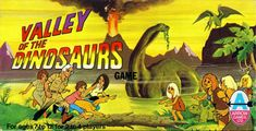 VALLEY OF THE DINOSAURS  was a 30 minute animated adventure show from Hanna Barbera that ran on the CBS network on Saturday mornings beginn...