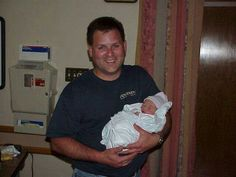 Proud dad...little did he know that 10 yrs later he would be saving this little one by giving his life.