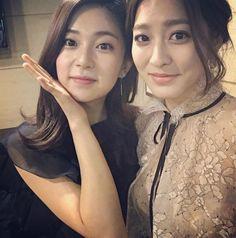 'My Daughter, Geum Sa-Wol' Park Se-yeong and Baek Jin-hee take selfie together @ HanCinema :: The Korean Movie and Drama Database Park Se Young, Baek Jin Hee, Mbc Drama, Empress Ki, Seoul Music Awards, Girls Characters, Pride And Prejudice, Mean Girls, Korean Beauty