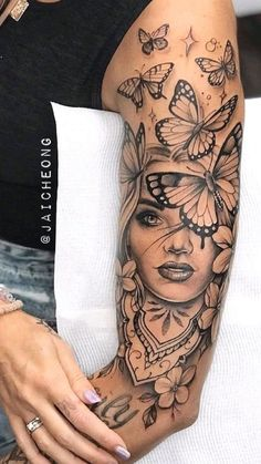 Pretty Tattoos, Sexy Tattoos, Cute Tattoos, Beautiful Tattoos, Hand Tattoos, Girl Tattoos, Tatoos, Arm Sleeve Tattoos For Women, Dope Tattoos For Women