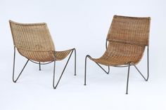 A Pair of Chairs by Rene-Jean Caillette | Rose Uniacke