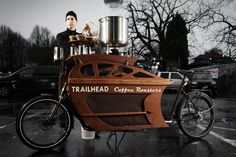 Food trucks, share the lane. Food #bikes are merging into the business:
