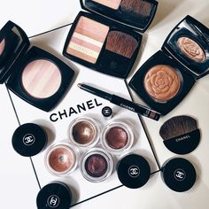Image de chanel, makeup, and beauty
