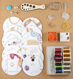 Premium Wire Crochet KIT - ALL in one jewelry making kit - Craft kit fro DIYer - Ultimate gift fro her  In the KIT : -------------- 12 video+PDF instructions of your choice ! see list below 6 Large premium wires - pick your shades from 30 different color list ! ISK looms full set 3 stainless steel hooks clasps , chains, jump rings or in short - everything you need to finished these items into jewelry ! (end cups currently out of stock)  An original and complete jewelry making kit, in Yoolas…