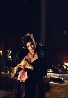 OUAT- The Evil Queen in the Hansel and Gretel episode