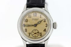 WWII Military Waltham 17 Jewel Wrist Watch by timekeepersinclayton