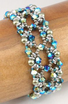 Instructions for Astral Rococo Bracelet   Beading von njdesigns1