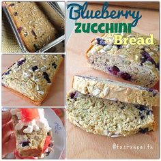 Blueberry Zucchini Bread 1 + cup old fashioned oats 2 scoops of vanilla whey 1 tsp baking powder 1 tsp cinnamon 4 egg whites cup milk (I only had skim milk available) cup finely shredded zucchini cup blueberries Healthy Eating Tips, Clean Eating, Blueberry Zucchini Bread, Old Fashion Oats, Shredded Zucchini, Egg Whites, Blueberries, Vegetable Recipes, Donuts