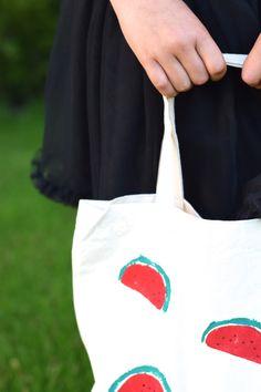 Tas met watermeloenen DIY | Wimke | DIY (do it yourself) | eenvoudige recepten | uittips