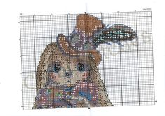 Cute Cross Stitch, Cross Stitch Patterns, Fizzy Moon, Christmas Embroidery Patterns, Blue Nose Friends, Cross Stitching, Handmade Gifts, Moose Art, Rabbit