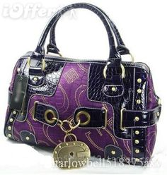 Purple Guess purse