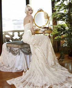 Свадебные платья в стиле ретро фото 7