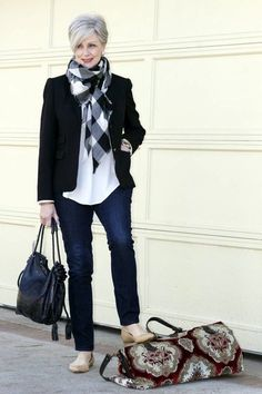 Blazer5 6 Fabulous Outfits for Women Over 40