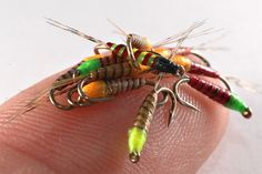 French micro nymphs ( Jaques Boyko - flyforums.co.uk)